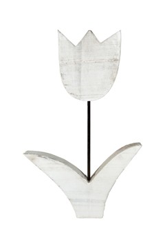 Tulpe aus Holz, 25cm, 1 Stk.