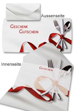"""Geschenkgutschein """"Gastro"""", 19x28.5cm, 25 Stk."""