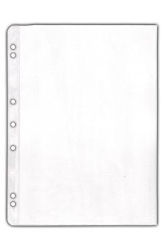 Ersatzfolien (PVC) transparent, matt, A4, 10 Stk.