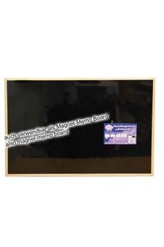 Wand-Kreidetafel magnetisch, natur, 90x60cm, 1 Stk.