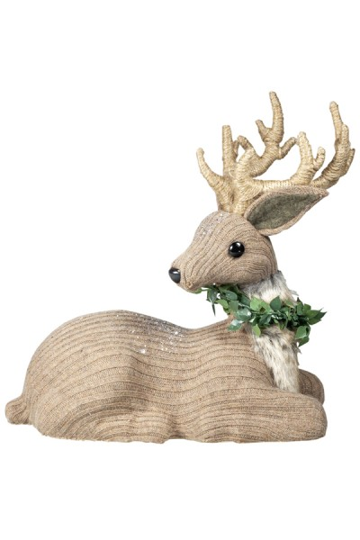 Hirsch aus Stoff, 24 cm