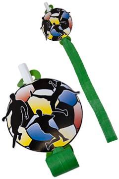 "Luftrüssel ""Fußball"", ca. 14cm, 6 Stk."