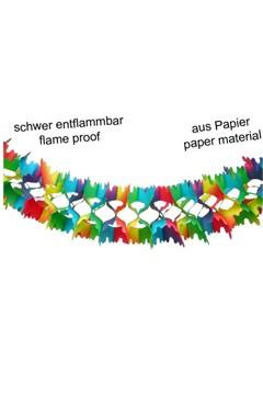 Girlande aus Papier, Ø16cm, 4m, 1 Stk.
