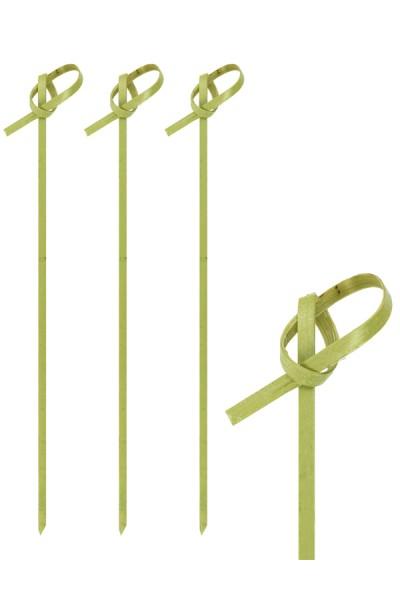 """Fingerfood Spieße """"Knoten"""" aus Bambus, 15cm, 250 Stk."""