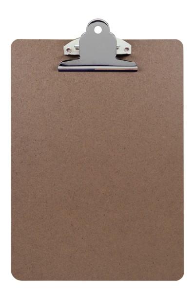 Klemmbrett aus Holz, A5, 1 Stk.