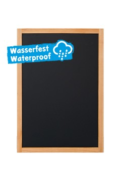 Wand-Kreidetafel, natur, wasserfest, 60x87cm, 1 Stk.