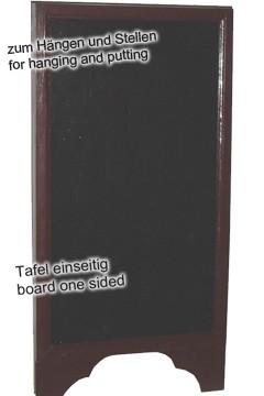 Gehweg-Kreidetafel, 1-seitig, 40x80cm, 1 Stk.