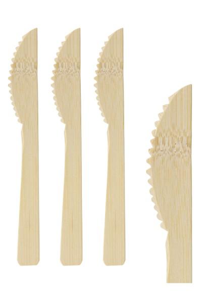 Messer aus Bambus, 17cm, 100 Stk.