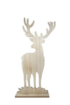 Hirsch aus Holz 59 cm, 1 Stk.