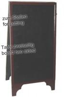Gehweg-Kreidetafel, 2-seitig, 60x120cm, 1 Stk.