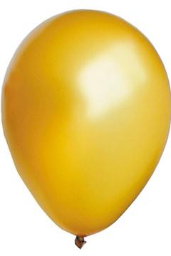 "Luftballons ""Perlmutt"", gold, Ø30cm, 50 Stk."