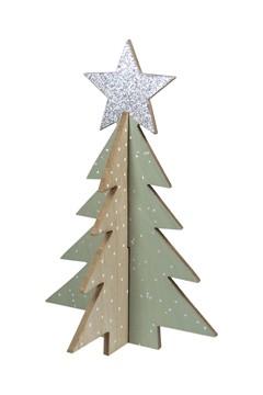 Weihnachtsbaum aus Holz 30 cm, 1 Stk.
