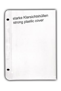 Klarsichthüllen 15 x 21 cm, 10 Stk.