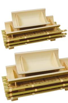 Fingerfood Set aus Bambus, 5-teilig, 1 Set