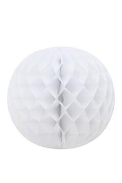 Wabenball aus Papier, schwer entflammbar, weiß, Ø35cm, 1 Stk.