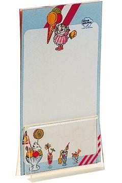"""Tischkartenhalter """"Klemme"""" aus Acrylglas, 10x6cm, 1 Stk."""