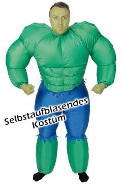 """Kostüm """"Hulk"""", aufblasbar, für Erwachsene, 1 Stk."""
