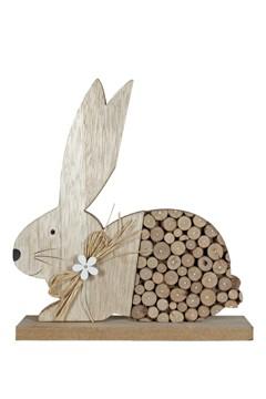 Hase aus Holz, 24 cm, 1 Stk.
