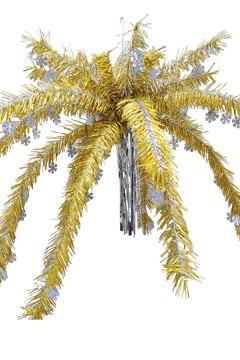 Hängepalme, gold, ca. 100cm