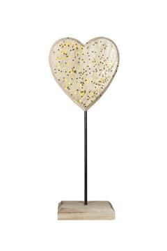 Herz aus Holz 24 cm, 1 Stk.