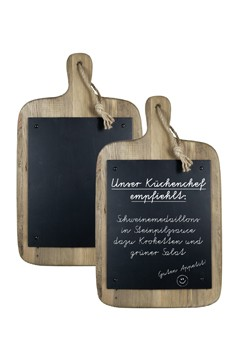 "Wand-Kreidetafel ""Vintage"", 24x40.5cm, 1 Stk."